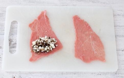 Preparazione Involtini di vitello con mozzarella e pomodorini confit - Fase 2