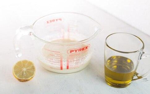 Preparazione Maionese al latte di mandorla - Fase 1