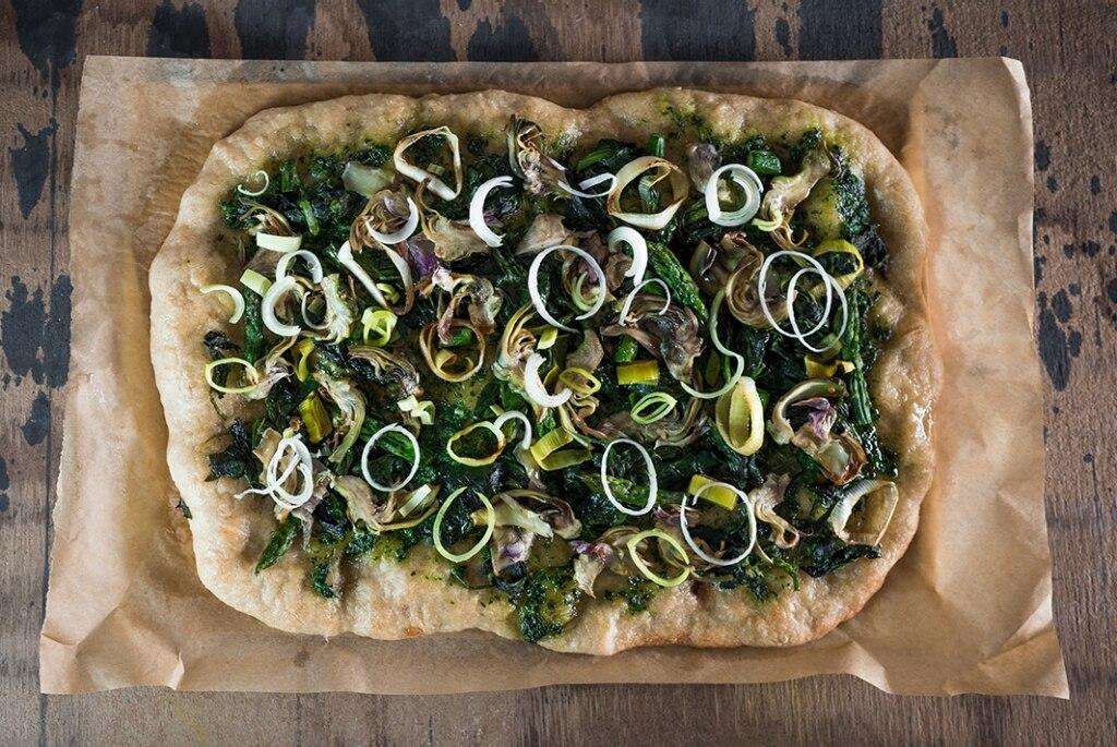 Pizza vegana