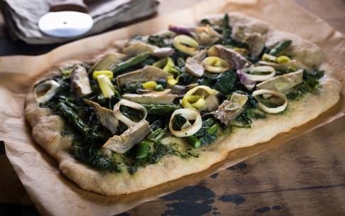 Preparazione Pizza vegana - Fase 3