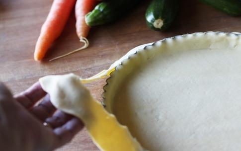 Preparazione Torta di rose salata con verdure - Fase 1