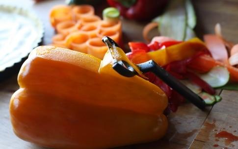 Preparazione Torta di rose salata con verdure - Fase 3