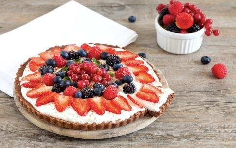 Preparazione Torta senza cottura ai frutti rossi - Fase 4