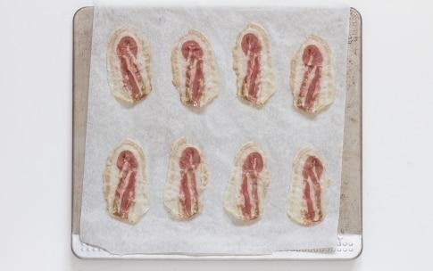 Preparazione Avocado e pancetta - Fase 1