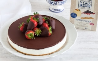 Cheesecake senza cottura al mascarpone,...