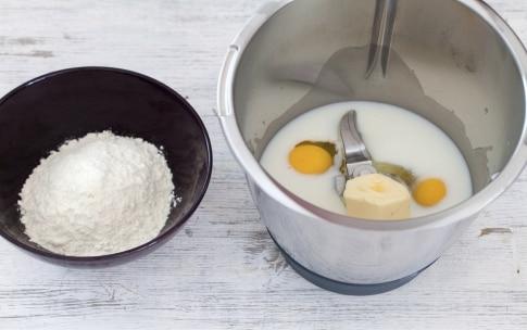 Preparazione Crepes con il Bimby - Fase 1