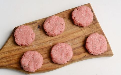 Preparazione Mini hamburger alla senape - Fase 1