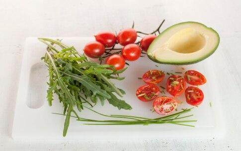 Preparazione Brioche salata ripiena - Fase 1