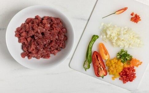 Preparazione Chili con carne - Fase 1