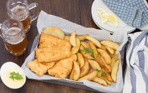 Preparazione Fish and chips - Fase 5