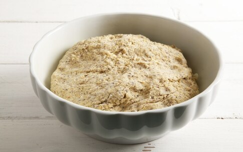 Preparazione Focaccia al mais Corvino - Fase 3