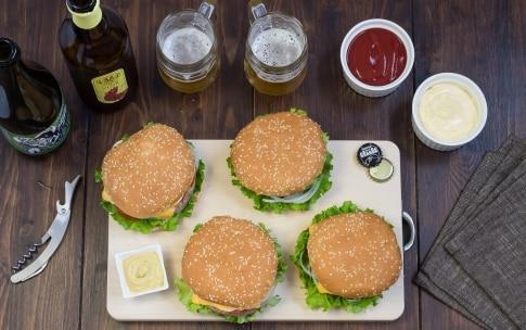 Preparazione Hamburger - Fase 6