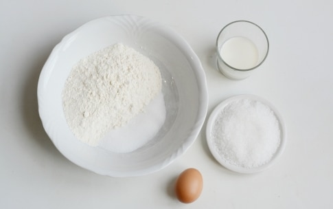 Preparazione Waffle alla Nutella - Fase 1