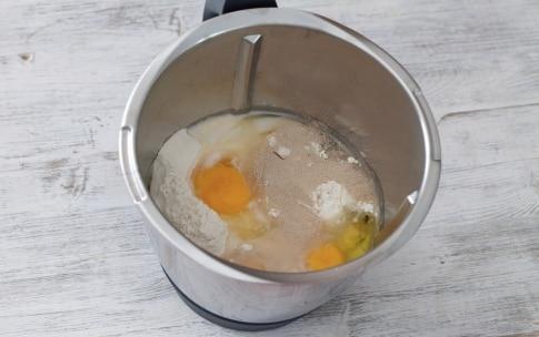 Preparazione Pan brioche con il Bimby - Fase 1