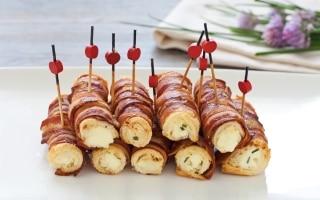 Cannoncini di pancarrè alla pancetta