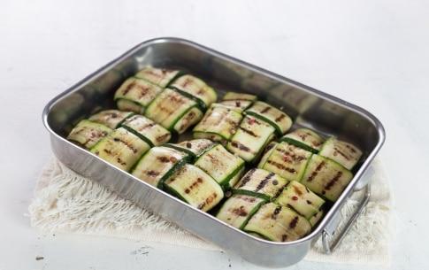 Preparazione Fagottini di zucchine - Fase 3
