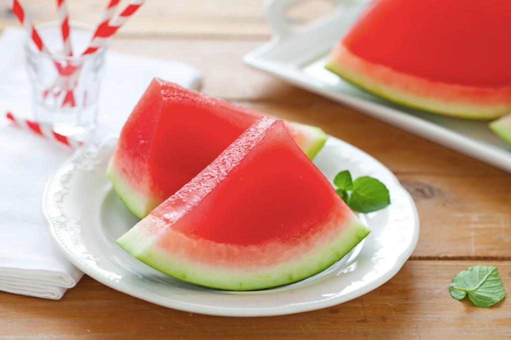 gelatina di anguria