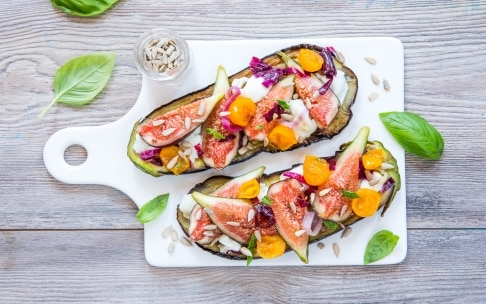 Preparazione Melanzane ripiene vegetariane - Fase 3