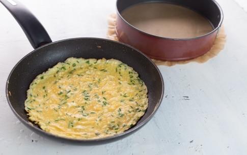 Preparazione Torta di frittate - Fase 3
