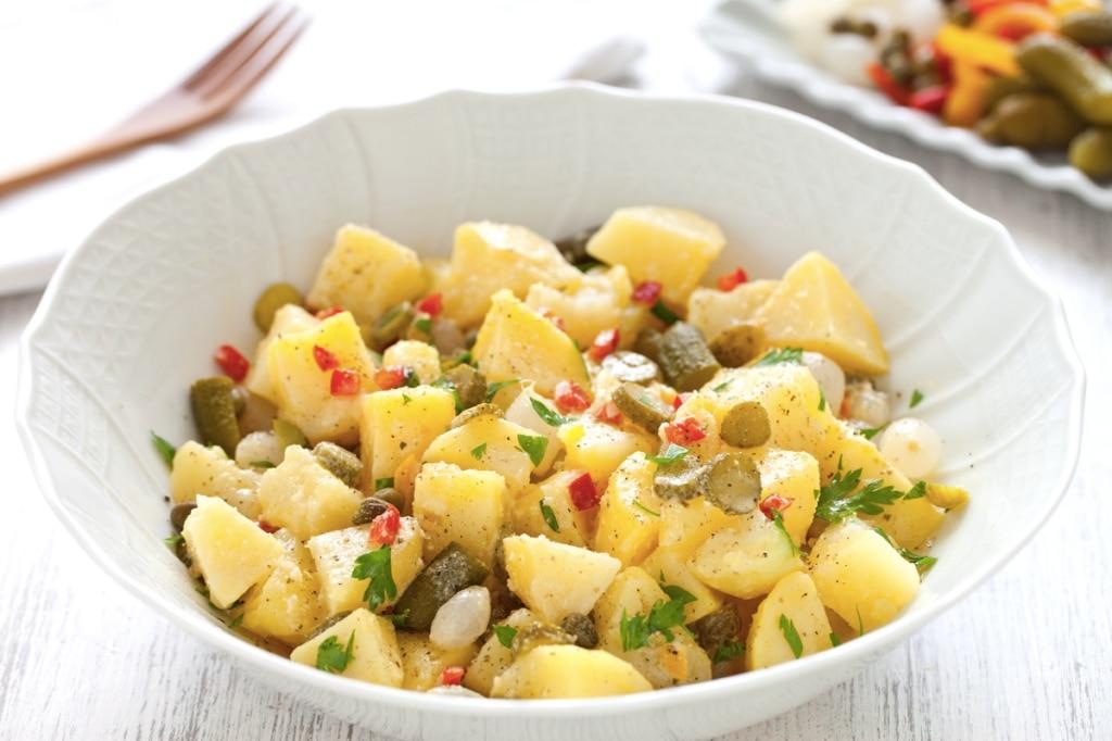 insalata di patate saporita