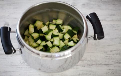 Preparazione Vellutata di zucchine - Fase 2