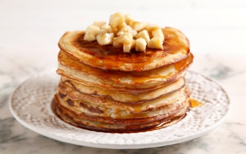 Preparazione Pancake alla banana - Fase 4