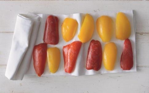 Preparazione Peperoni sott'aceto - Fase 1