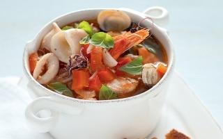 Brodetto di pesce con peperoni