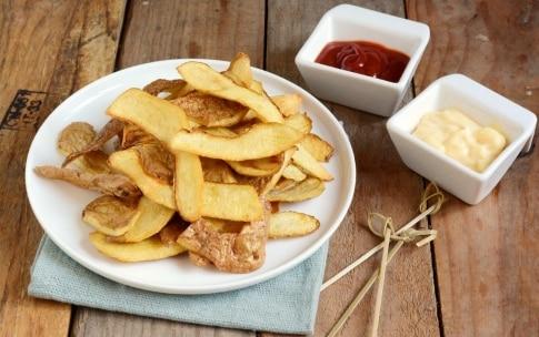 Preparazione Bucce di patate fritte - Fase 3