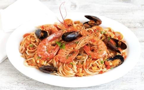 Preparazione Spaghetti allo scoglio - Fase 5
