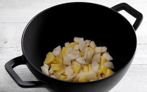 Preparazione Crema di topinambur - Fase 2