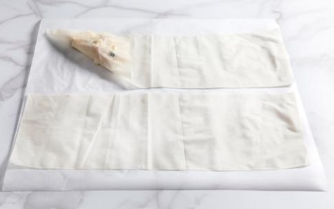 Preparazione Fagottini di pasta fillo pere e gorgonzola - Fase 2