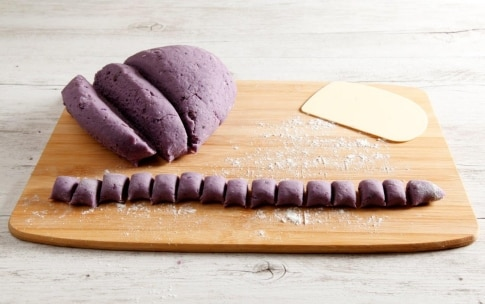 Preparazione Gnocchi di patate viola - Fase 2