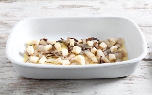Preparazione Lasagne al radicchio e fontina - Fase 3