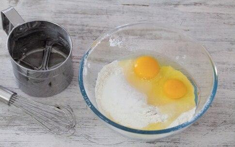 Preparazione Pancake ripieni alla Nutella - Fase 1