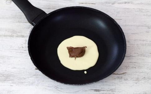 Preparazione Pancake ripieni alla Nutella - Fase 3