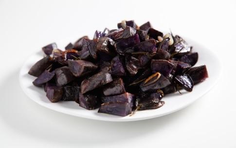 Preparazione Patate viola al forno - Fase 2