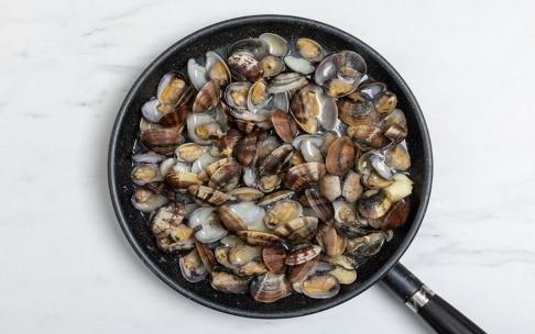 Preparazione Spaghetti alle vongole - Fase 3