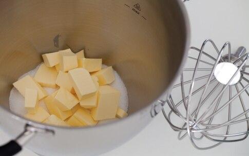 Preparazione Torta al cioccolato e caffè con crema pasticciera al cioccolato - Fase 1