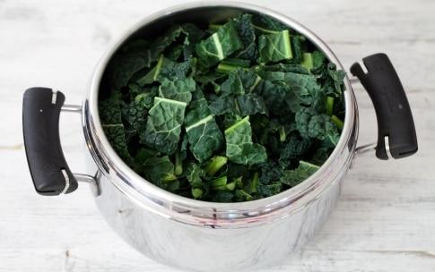 Preparazione Zuppa di cavolo nero - Fase 2