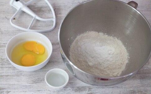 Preparazione Chiacchiere al forno - Fase 1