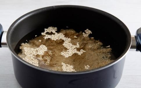 Preparazione Insalata di edamame e quinoa - Fase 1