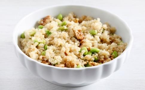 Preparazione Insalata di edamame e quinoa - Fase 3