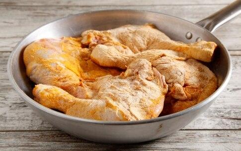 Preparazione Pollo alla curcuma - Fase 2