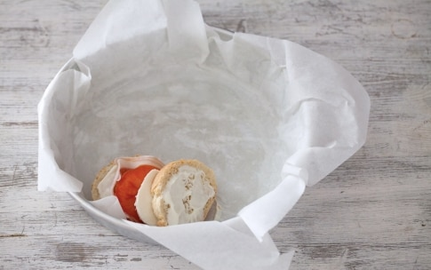 Preparazione Torta di pane, pancetta e formaggi - Fase 1