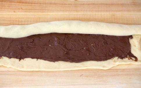 Preparazione Treccia alla Nutella - Fase 4
