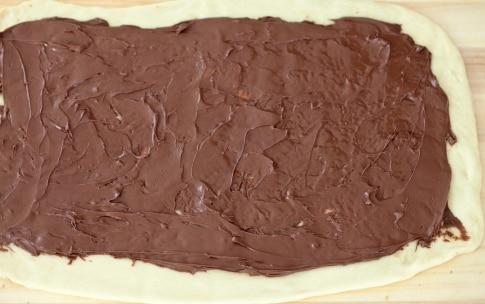 Preparazione Treccia alla Nutella - Fase 3