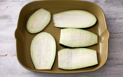 Preparazione Cannelloni di melanzane al ragù di salsiccia - Fase 1