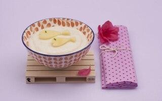 Crema densa di riso al latte con...