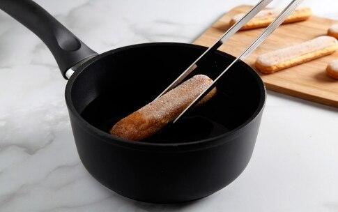Preparazione Cremoso al cioccolato con mousse al lampone - Fase 1